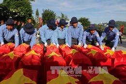 An Giang tổ chức lễ cải táng 168 hài cốt liệt sỹ