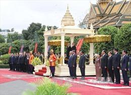 Lễ đón chính thức Tổng Bí thư Nguyễn Phú Trọng và đoàn đại biểu cấp cao Việt Nam