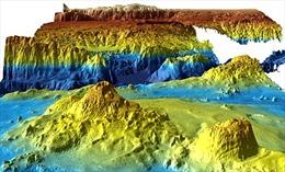 Bản đồ vùng tìm kiếm MH370 hé lộ bí mật bất ngờ của đại dương