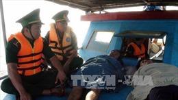 Kịp thời cứu 10 ngư dân tàu cá của Bình Thuận bị chìm