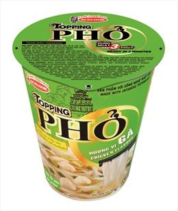 Acecook Việt Nam ra mắt sản phẩm Phở ly TOPPING