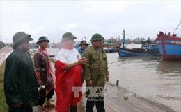 Hơn 400 tàu thuyền của Quảng Trị  đã vào khu neo đậu an toàn để tránh báo