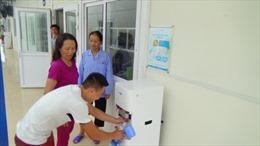 Đảm bảo nước tinh khiết miễn phí tới cho các bệnh nhân nghèo