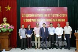 Bộ Ngoại giao gặp mặt các đối tượng chính sách