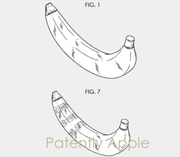 Samsung được cấp sáng chế cho 'điện thoại quả chuối'