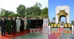 Lãnh đạo Đảng, Nhà nước tưởng niệm các Anh hùng Liệt sỹ và vào Lăng viếng Chủ tịch Hồ Chí Minh