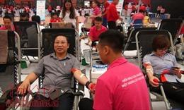 Hàng nghìn người tham gia chương trình 'Giọt hồng tri ân'