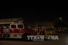 Hỏa hoạn tại liên hoan âm nhạc ở Tây Ban Nha