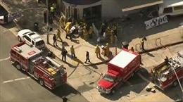 Nhiều người bị thương trong vụ lao xe tải tại Mỹ