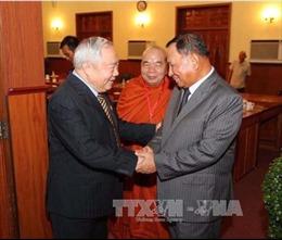 Lãnh đạo Campuchia tiếp đoàn cựu quân tình nguyện Việt Nam