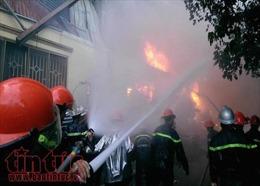 TP Hồ Chí Minh: Cháy lớn ở công ty sản xuất đồ nhựa Tuấn Thông