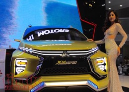 Chiêm ngưỡng 'con lai' Mitsubishi XM concept tại triển lãm ô tô Việt Nam 2017