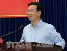Đoàn đại biểu Đảng Nhân dân Cách mạng Lào dự Hội thảo Lý luận tại Việt Nam