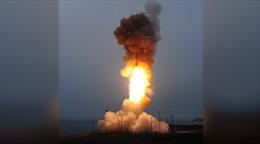 Không chịu 'lép vế' trước Triều Tiên, Mỹ phóng ICBM ngang Thái Bình Dương