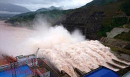 Thủy điện Lai Châu xả lũ khẩn cấp, lãnh đạo tỉnh xuống hiện trường chỉ đạo trực tiếp