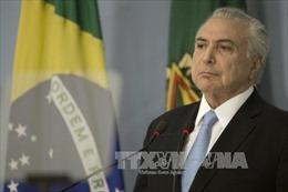 Tổng thống Brazil đối mặt nguy cơ bị truy tố với cáo buộc tham nhũng