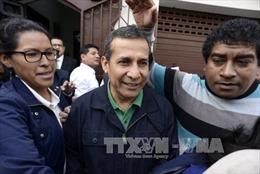 Tòa án Peru bác yêu cầu tại ngoại của cựu tổng thống Ollanta Humala