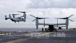 Mỹ dừng tìm 3 quân nhân mất tích vụ máy bay rơi ngoài khơi Australia