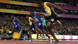Usain Bolt thua Justin Gatlin trong lần thi đấu 100m cuối cùng