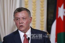 Quốc vương Jordan gặp Tổng thống Palestine tại khu Bờ Tây