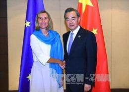 Trung Quốc, EU coi trọng giải pháp hòa bình trong vấn đề Triều Tiên