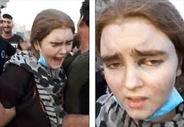 Xuất hiện video 'cô dâu IS' 16 tuổi bị bắt tại Mosul