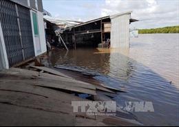 Cà Mau: Cấp bách xây kè bảo vệ khu dân cư thị trấn Năm Căn