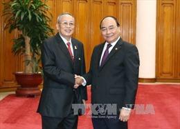 Thủ tướng Nguyễn Xuân Phúc tiếp Phó Chủ tịch Thượng viện Campuchia