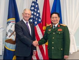 Đại tướng Ngô Xuân Lịch thăm Hoa Kỳ, thúc đẩy hợp tác quốc phòng