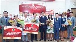 Địa ốc Kim Phát và Việt Hưng Phát hỗ trợ hơn 1,2 tỷ đồng cho Bệnh viện Nhi Đồng II