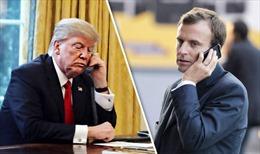Lãnh đạo Mỹ, Pháp điện đàm về an ninh và thương mại