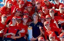 Rogers Cup 2017: Zverev hạ Federer, tuổi trẻ lên ngôi