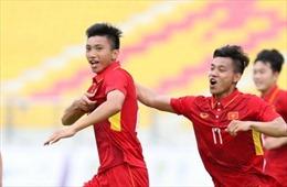 Chiêm ngưỡng 'siêu phẩm' của Văn Hậu trong chiến thắng ấn tượng của U22 Việt Nam