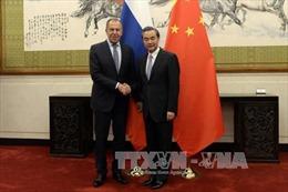 Nga - Trung nhất trí tìm giải pháp hòa bình cho vấn đề Triều Tiên