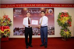Chùm ảnh lễ trao giải thưởng 'Bùi Xuân Phái- Vì Tình yêu Hà Nội'