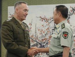 Giữa căng thẳng Triều Tiên, Chủ tịch Hội đồng Tham mưu trưởng Liên quân Mỹ tới Trung Quốc