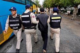 Campuchia bắt giữ hàng trăm đối tượng người Trung Quốc tham gia lừa đảo qua mạng