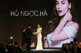 Hồ Ngọc Hà đoạt giải thưởng Biểu tượng sắc đẹp của năm