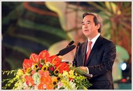 Trưởng Ban Kinh tế Trung ương làm việc với Đại học Quốc gia Hà Nội