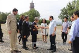 Tổng Giám đốc Tổ chức UNESCO thăm tỉnh Ninh Bình