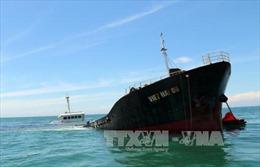 Vụ tàu hàng bị chìm trên vùng biển Ninh Thuận: Tránh để xảy ra sự cố tràn dầu