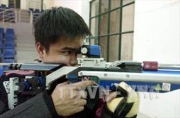 Xạ thủ Nguyễn Duy Hoàng giành HCB bắn súng