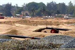 Nghiêm cấm sử dụng cát thông thường san lấp mặt bằng, nền công trình