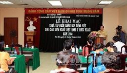 Học tiếng Việt - nhu cầu thiết yếu của cộng đồng người Việt Nam ở nước ngoài