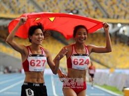 SEA Games 29: Điền kinh Việt Nam liên tiếp 'gặt' Vàng