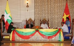 Tuyên bố chung về quan hệ Đối tác Hợp tác Toàn diện Việt Nam - Myanmar
