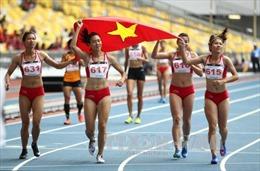 Bảng tổng sắp huy chương ngày 25/8: Điền kinh Việt Nam vươn lên số 1 Đông Nam Á