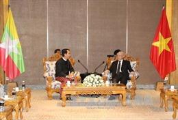Quan hệ Việt Nam - Myanmar đứng trước cơ hội phát triển mới trên tất cả các lĩnh vực