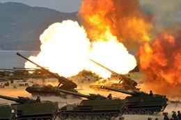 Khả năng Triều Tiên vừa thử hệ thống pháo phản lực