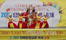 Tưng bừng lễ hội giao lưu văn hóa Việt Nam – Hàn Quốc